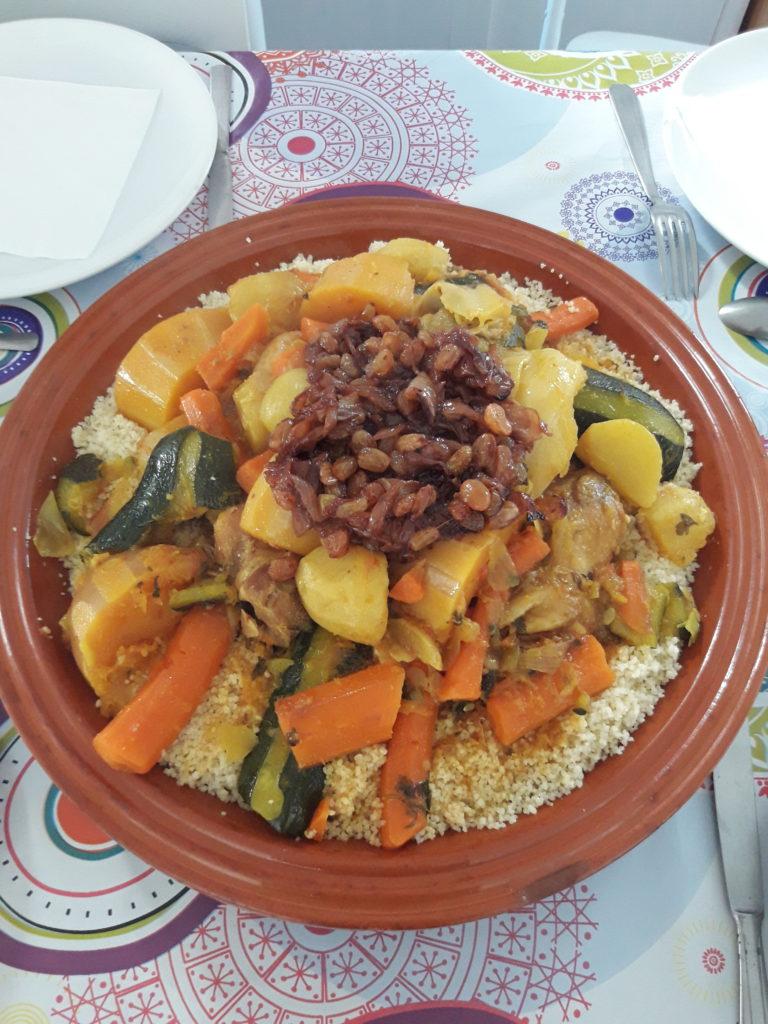 Recette du couscous pour 15 personnes